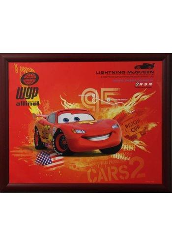 Disney Cars Poster mit Liste 55,5x46 cm