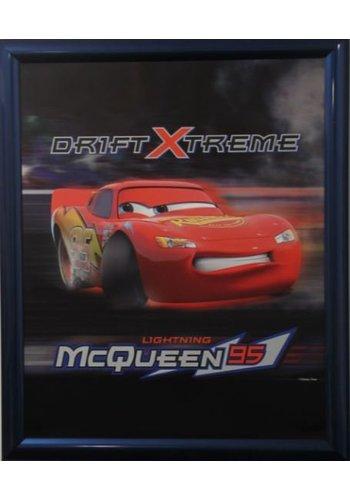 Disney Cars Poster mit Liste 46x55,5 cm
