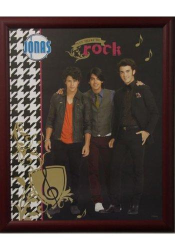 Poster met lijst 46x55,5 cm