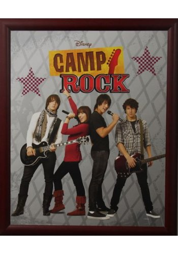 Disney Camp Rock Affiche avec liste 46x55,5 cm