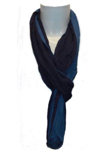 Romano Dames sjaal blauw
