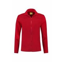 Fleece vest rood