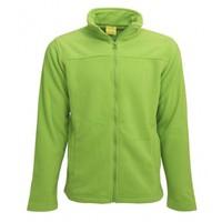 Fleece vest groen