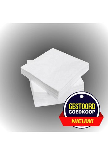 Neckermann Neckermann Servetten 100 stuks wit
