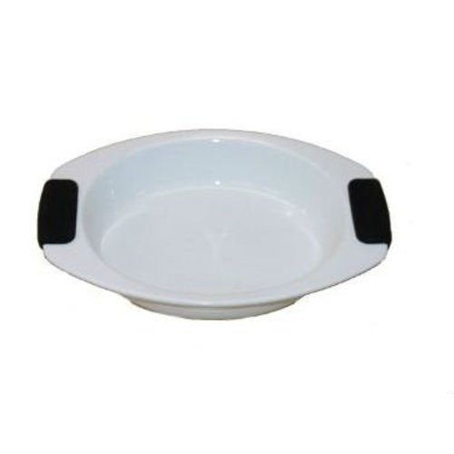 Neckermann Four ovale ovale avec poignée en silicone 30x22 cm