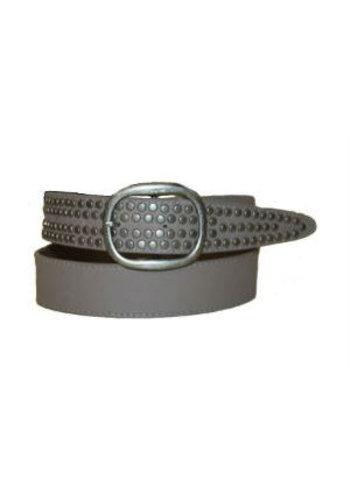 Romano Riem grijs met ovale gesp
