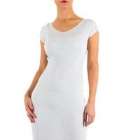 Damen Kleid von Moewy one size - white