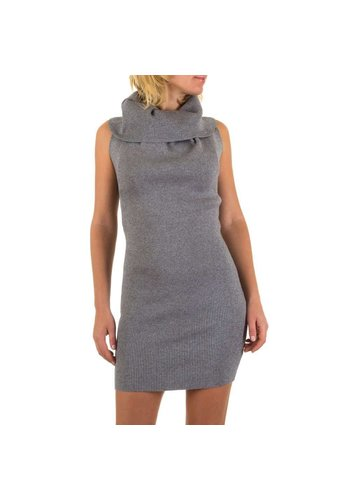 MC LORENE Dames jurk van Mc Lorene Gr. one size - Grijs