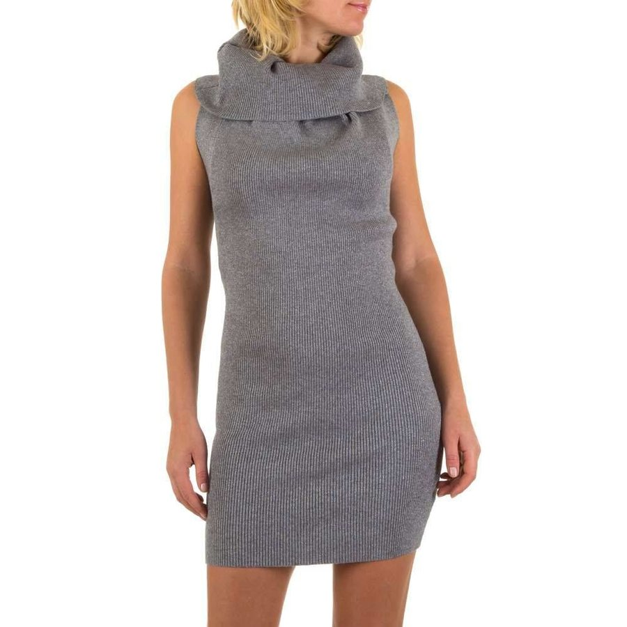 Damen Kleid von Mc Lorene Gr. one size - grey