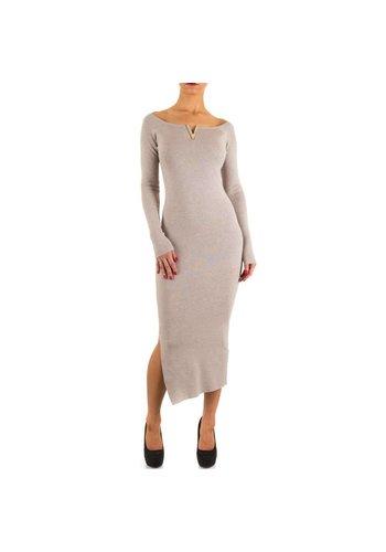 MOEWY Damen Kleid von Moewy one size - beige