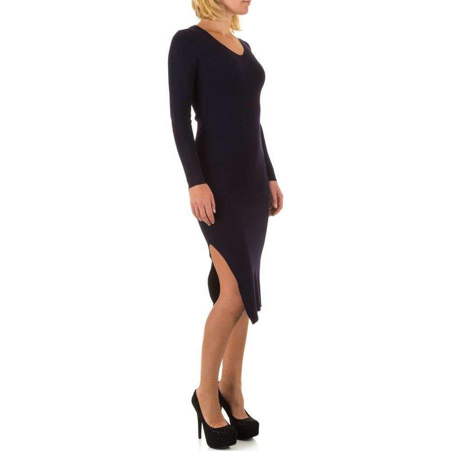 Damen Kleid von Mc Lorene Gr. one size - DK.blue