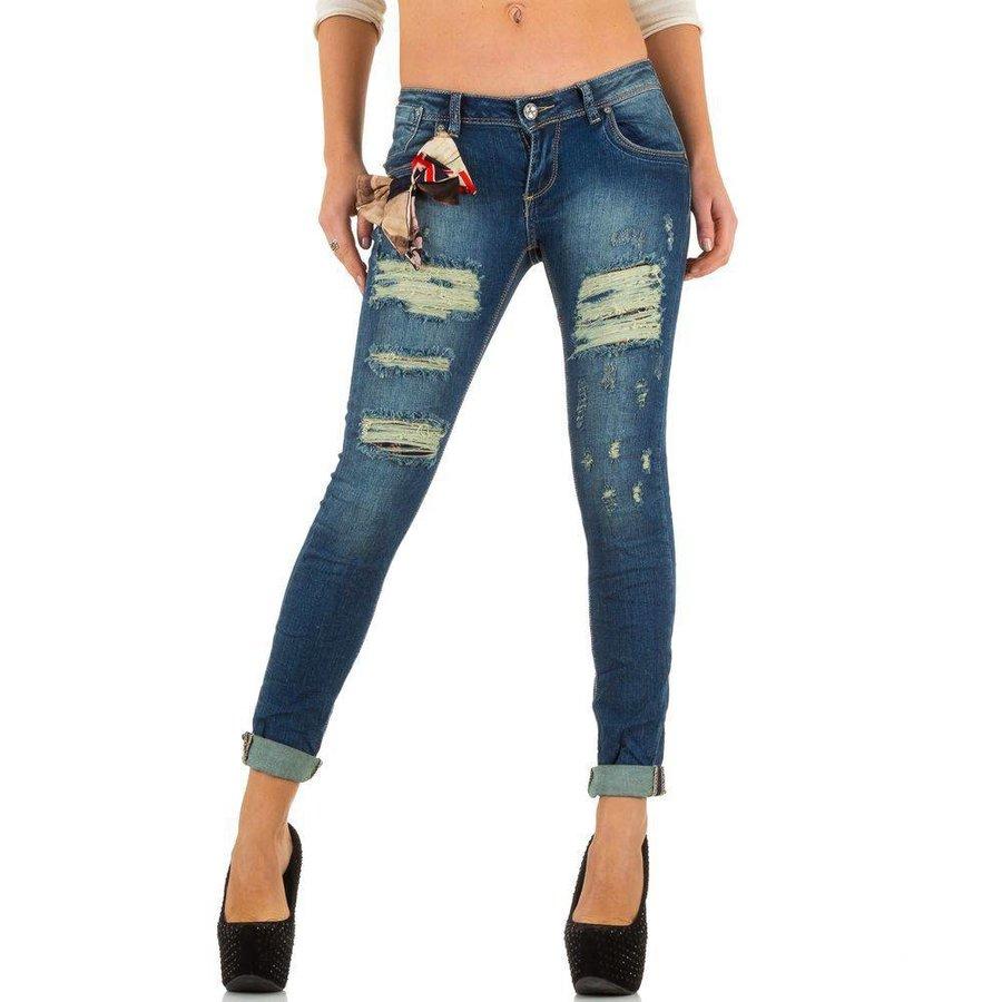 Dames Jeans van Mozzaar  - Blauw