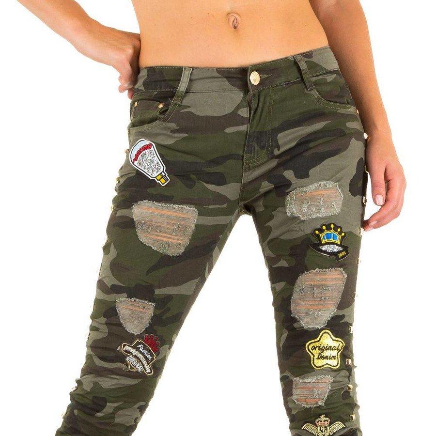 Damen Jeans von Original Denim - armygreen