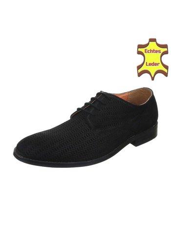 Neckermann Lederen heren schoen - zwart
