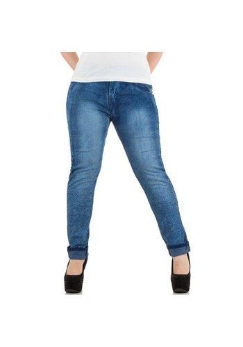 Markenlos Damen Jeans von Le Lys - blue
