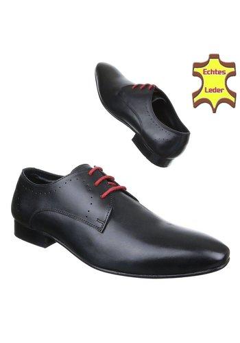 Neckermann Herren Business Schuhe - Black Leather