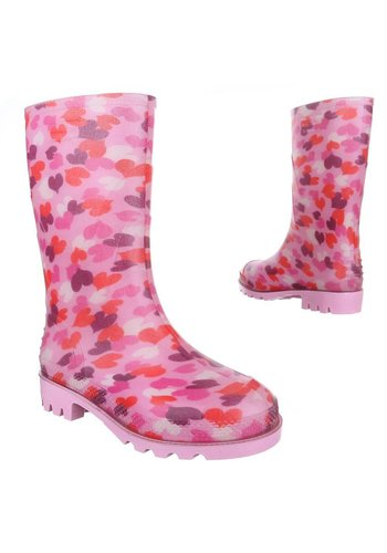 Neckermann Kinder Regenstiefel - rosa