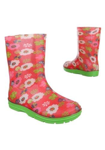 Neckermann Bottes de pluie pour enfants - rouge