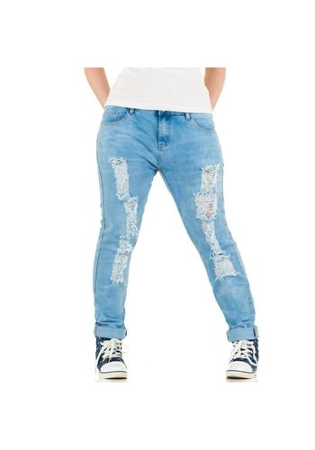 LE LYS Ladies Jeans from Le Lys - light blue