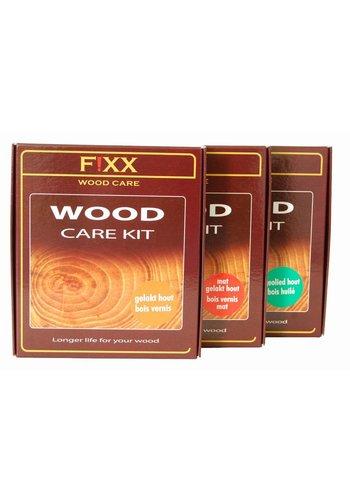 FiXX  Holzpflegeset für lackiertes Holz  2x 200 ml