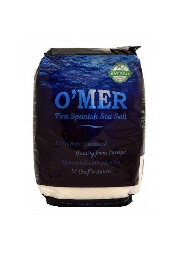 O'mer Feines Meersalz 1kg