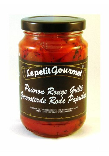 Le petit Gourmet Poivrons rouges grillés 370ml