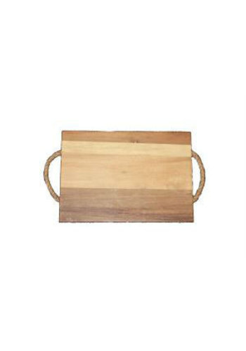 Neckermann Acacia houten snijplank met hengsel 40x28 cm