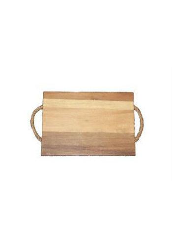Neckermann Neckermann Acacia houten snijplank met hengsel bruin