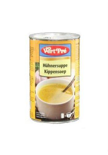 Vert Pré Soupe au poulet en boîte de 520 ml
