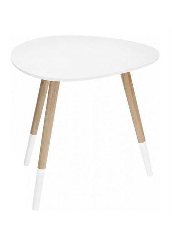 Neckermann Table d'appoint MDF EI forme 48 x 40 cm