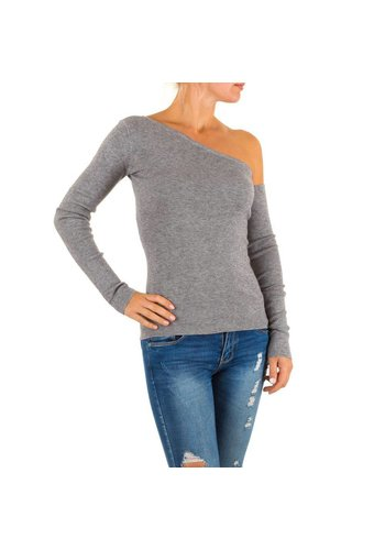 MOEWY Damen Pullover von Moewy Gr. one size - grey