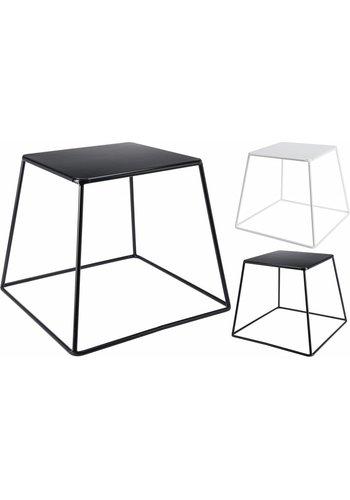 Neckermann Table d'appoint en métal 32x32 cm