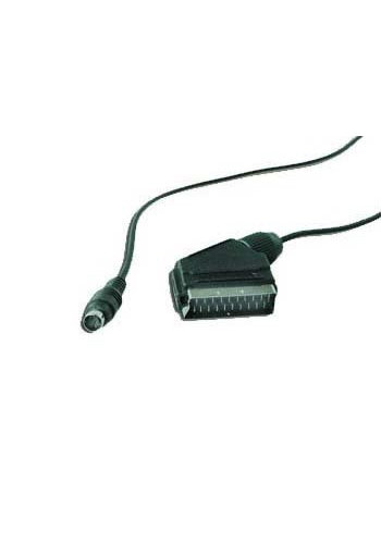 sunstech SCART naar S-Video adapterkabel, 1,8 m