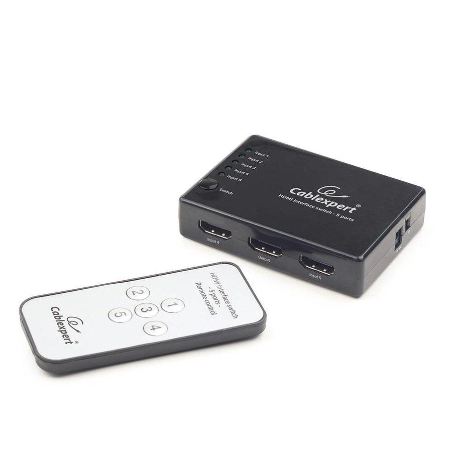 5-port HDMI-Switch