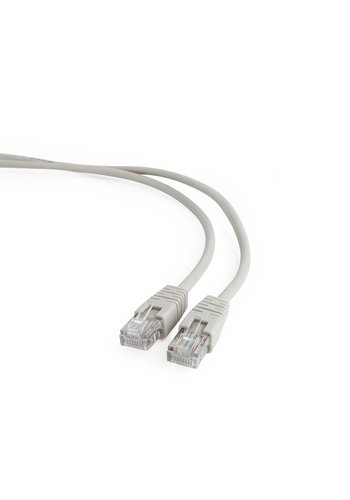 Cablexpert CAT5e UTP Patch cord, gray, 0.5 m