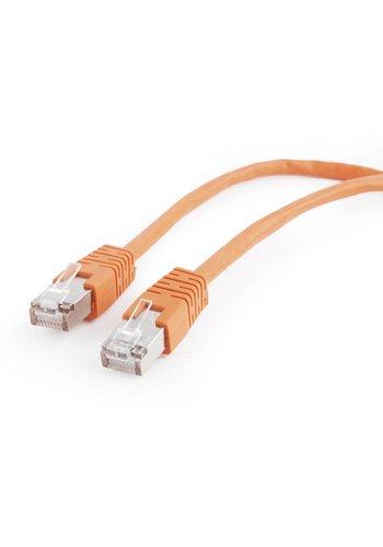Cablexpert FTP Cat5e Patch cord, orange, 0.5 m