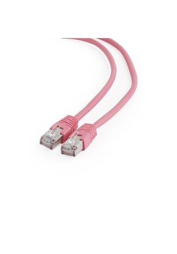 Cablexpert FTP Cat6 patchkabel, 0,5 m, roze