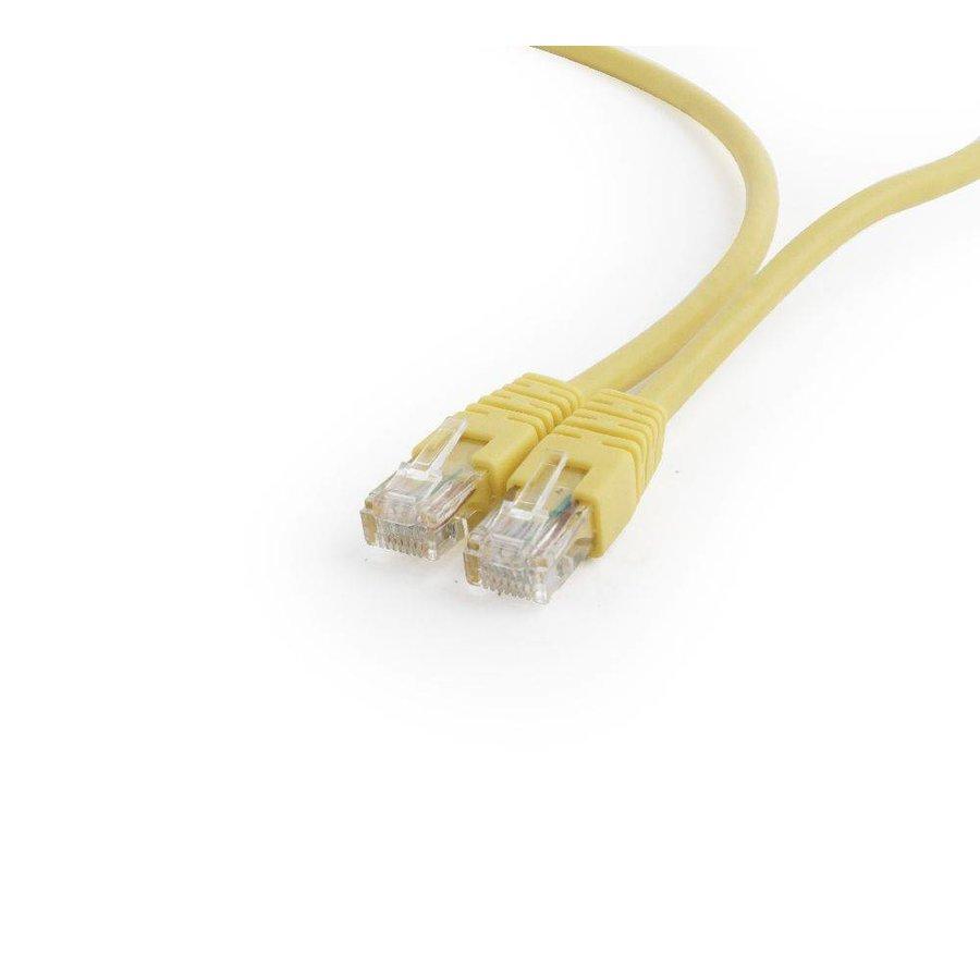 UTP Cat6 Patch cord, 10 m, yellow