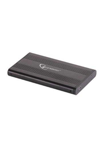 Gembird Externe HDD behuizing 2.5' SATA USB2.0 zwart