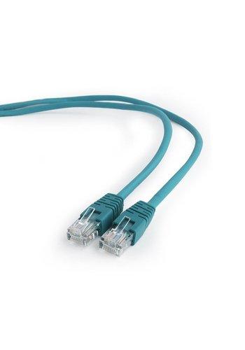 Cablexpert CAT5e UTP Patch cord, green, 0.25 m