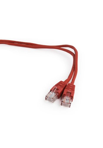 Cablexpert CAT5e UTP Patch cord, red, 0.25 m