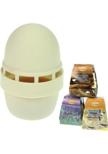 Home Living Gel désodorisant en forme d'œuf décoratif 80gr