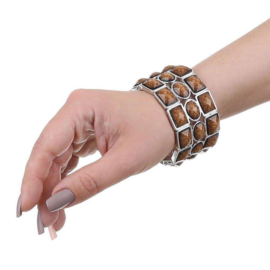 %0ADamen Armband - taupe