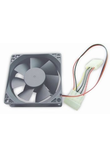 Gembird 80 mm PC case fan, sleeve bearing, 4 pin power connector