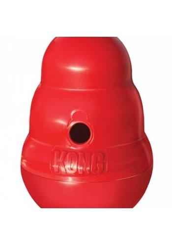 Kong Snack Dispenser Wobbler Rood 19x13 cm