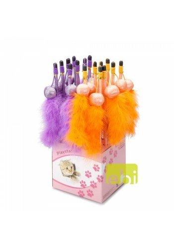 Ebi Cat fishing rod tickle fun paars - oranje