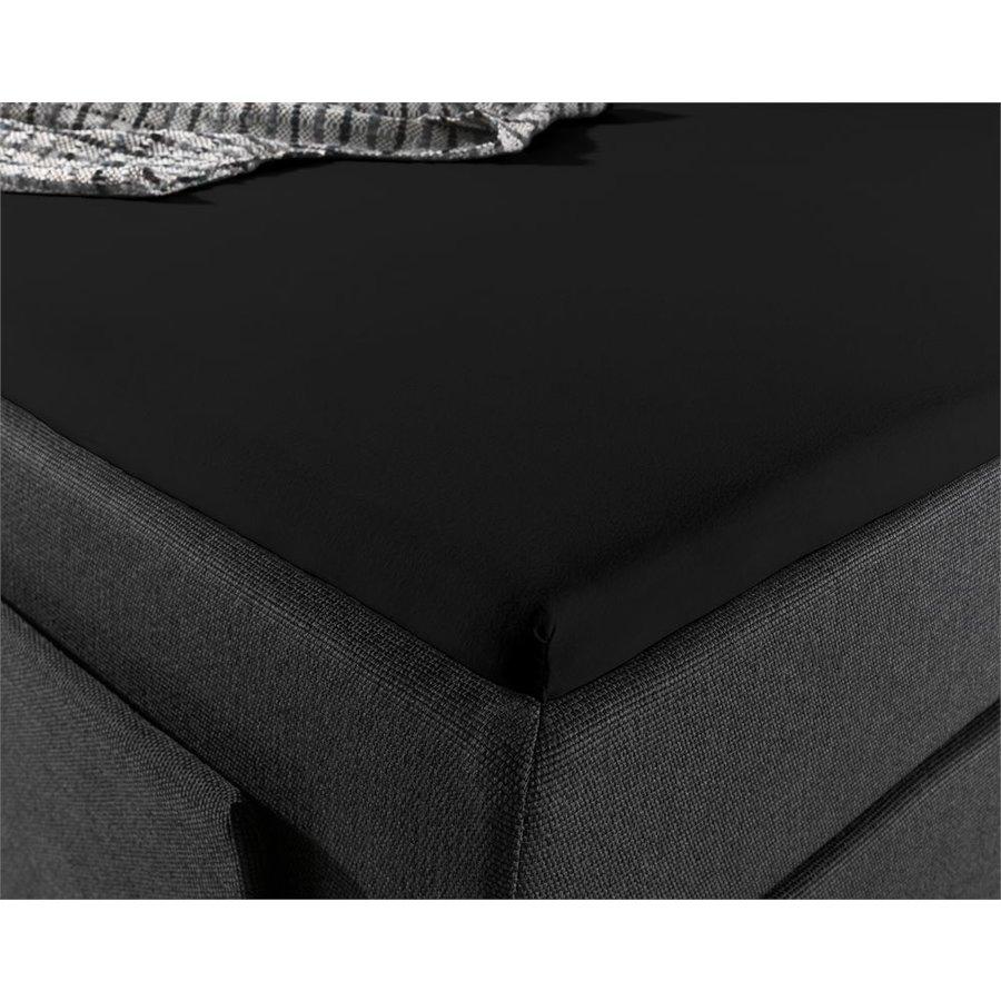 Hoeslaken Splittopper Jersey Black