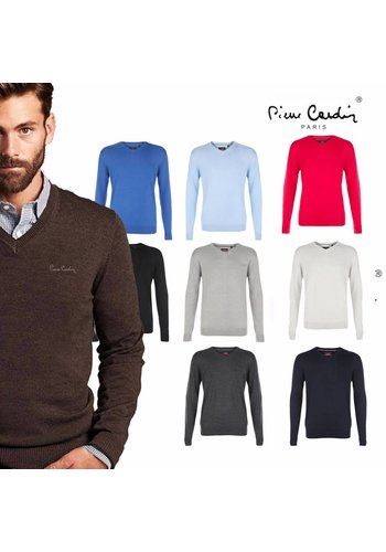 Pierre Cardin Pullover V-hals in verschillende kleuren