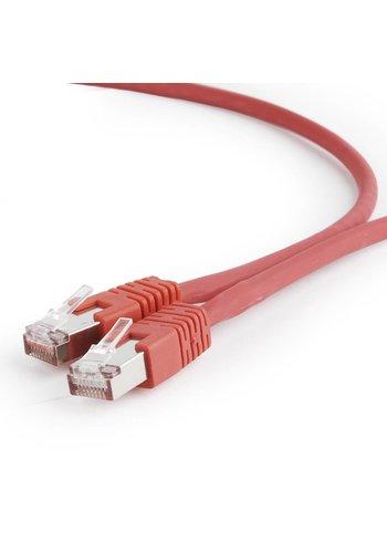 Cablexpert S/FTP Cat6A patchkabel LSZH, rood 1 m