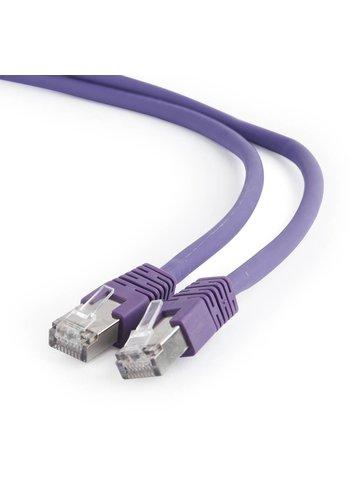 Cablexpert S/FTP Cat6A patchkabel LSZH, paars 1.5 m